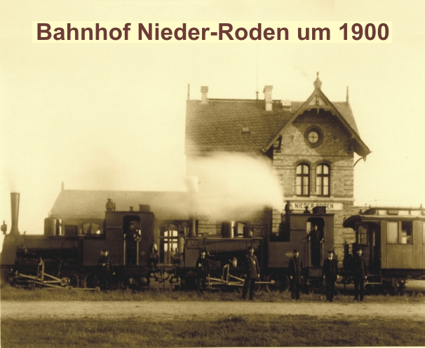 Bahnhof Nieder-Roden 1900